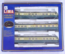 Lima HO DB ETR-430 CRÉME/TURKOIS Electric MULTIPLE 3-UNIT Train Set Fair! Boxed!