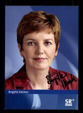 Brigitte Henkes Autogrammkarte Original Signiert # BC 93602