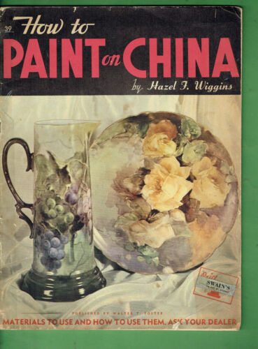 #T89. HOW TO PIANT ON CHINA BOOK