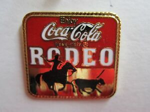 Coca-Cola-Rodeo-Pin-FREE-SHIPPING