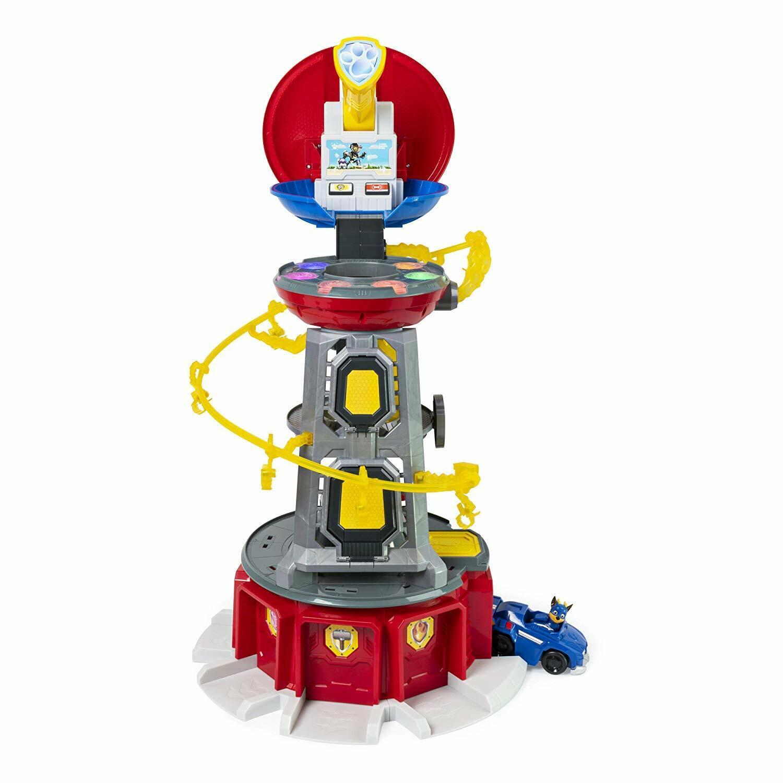Mäktiga valpar Super Tass Lookout Tower spelastat med Ljus och Ljud
