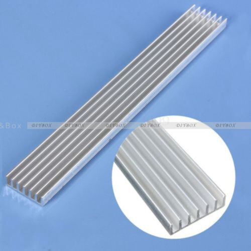 Aluminum Heat Sink Cooling 150x20x6mm Long LED for 1W 3W 5W LED Emitter Diodes