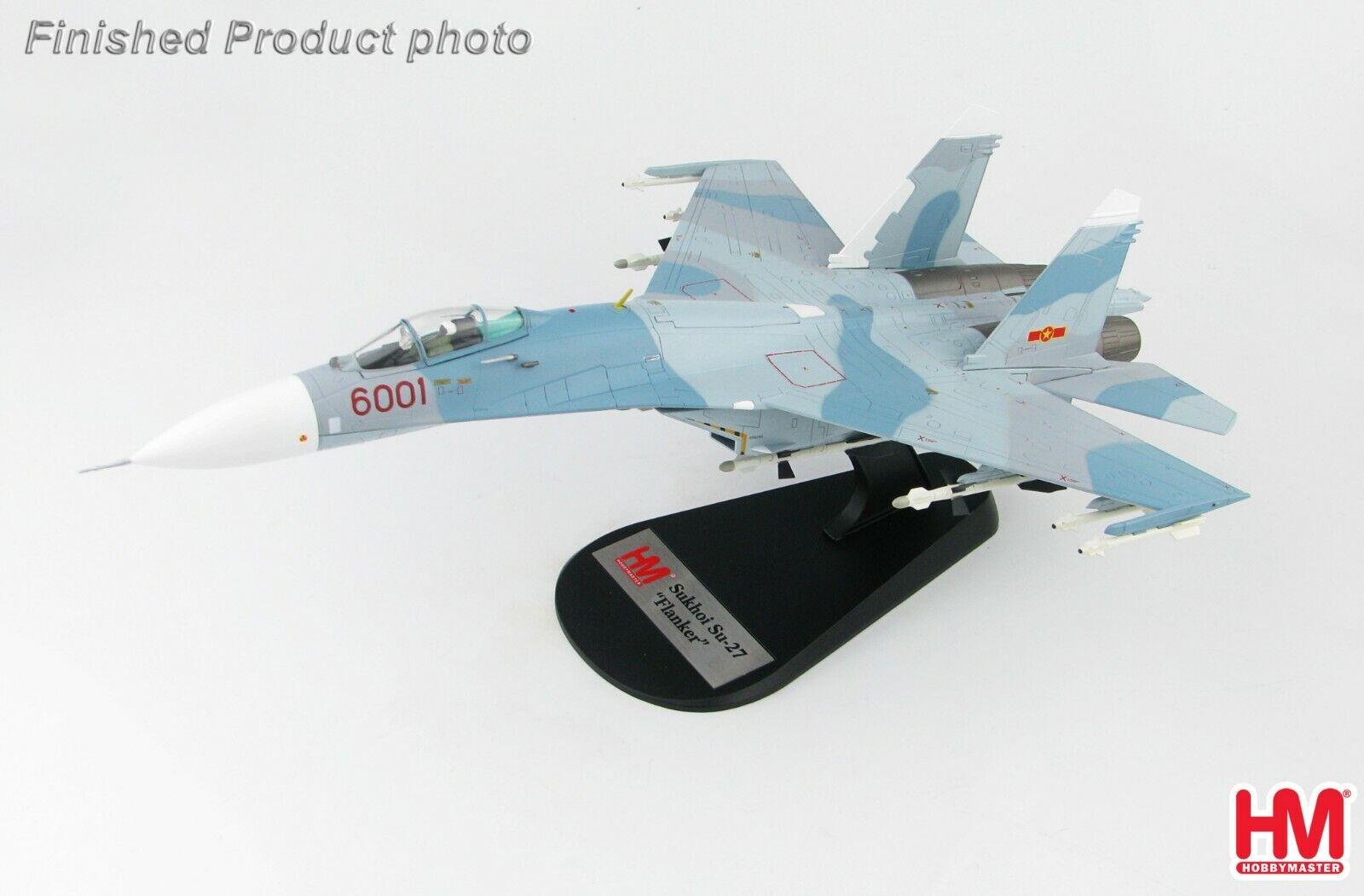 l'ultimo Hobby Master Master Master HA6007, Su-27SK Flanker B 6001, 370th Combatiente Division of Vietnames  Spedizione gratuita al 100%