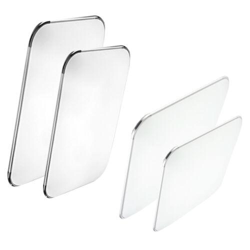 LED Ultraslim Deckenleuchte Badleuchte Deckenlampe Dimmbar Silber Flurleuchte