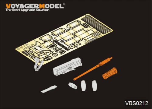 Voyager VBS0212 1//35 Modern US M109 carried M2 machine gun