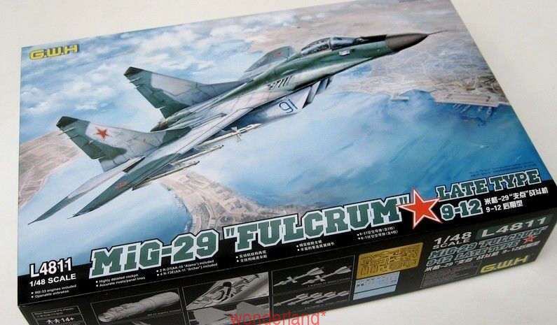 GreatWall 1 48 L4811 Russian Mig-29  Fulcrum   9-12 Late Type top quality