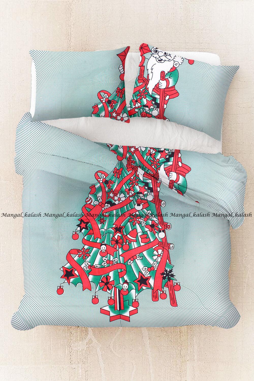 Indian new mandala floral duvet quilt cover cotton bedding comforter cover set