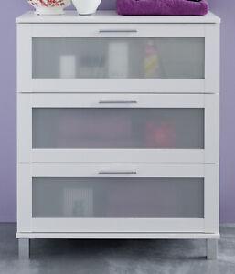 Kommode Badezimmer Weiß 2021