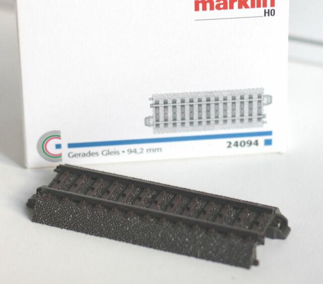 Nuovo Orig. Roco H0 61101 Geoline Set Pista B 16 Pezzi con 1 Deviatoio Conf