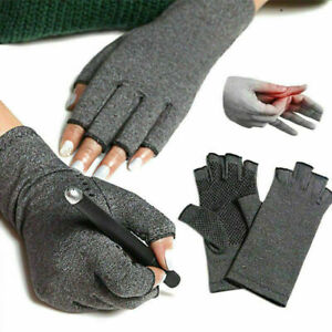 Compression-Arthritis-Gloves-Hand-Support-Wrist-Brace-Relief-Carpal-Pain-Tunnel