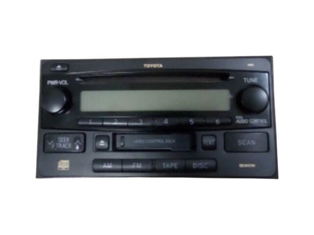 2006-2009 Toyota 4-Runner Radio AM / FM / CD / Cassette Player OEM
