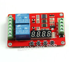 DC 12V Relay Module Cycle Time Delay Timing Self-locking Multi-Function Switch