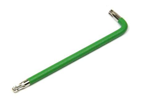 TORX Winkelschraubendreher CV TX25 mit Kugelkopf Farbcodierung grün