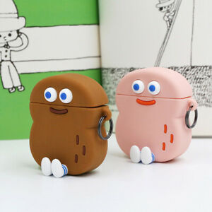 2pcs-Brunch-Brother-Official-Peanuts-Air-pod-Silicone-Case-Protective-Cover-Skin