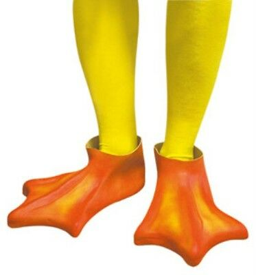 Adult Unisex Mens Ladies Duck Feet for Easter Fancy Dress Accessory