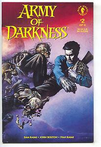 Army-Of-Darkness-2-1st-Series-1992-NM-Ash-Evil-Dead-Sam-Raimi-John-Bolton