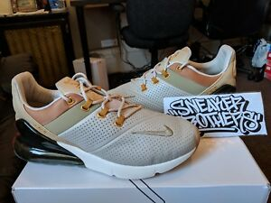wholesale dealer 6339f e95e6 Image is loading Nike-Air-Max-270-Premium-PRM-Desert-Ochre-