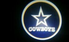 2x WIRELESS Dallas COWBOYS LED Logo Light Ghost Shadow Projector Car Door Laser