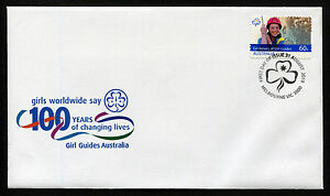 2010-Girl-Guides-S-A-FDC-First-Day-Cover-Stamps-Australia