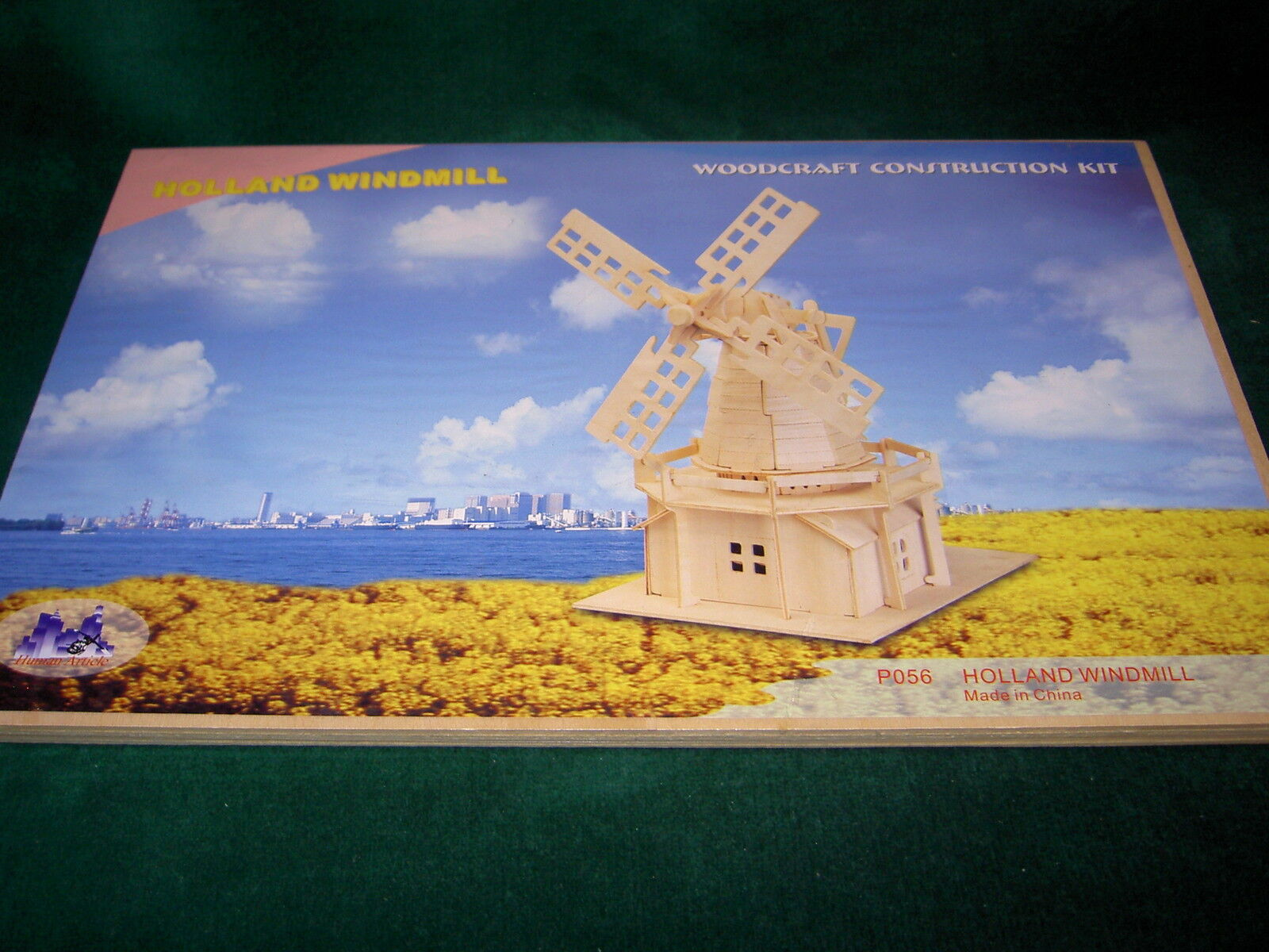 IDEAL RETAILER SET OF 8 PUZZLES in 3D  MILL DUTCH