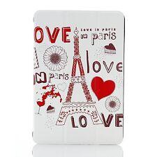 Poetic CoverMate Sleep/Wake Stand Case for Apple iPad Mini 1st Gen Love In Paris