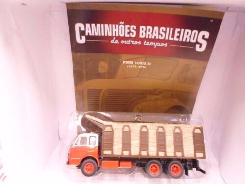 Classic Trucks From Brazil Alfa FNM 180//210 Sugar Cane Transport Ixo Altaya