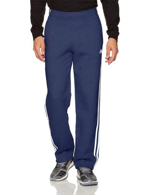adidas Essentials 3 Stripe Fleece Open Hem Pant ( S1754mcl242 ) S