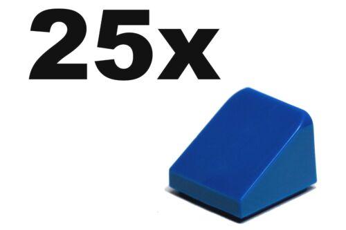 SLOPES 30 1 x 1 x 2//3 NEW LEGO x 25-1x1 slope 1 x 1 Blue