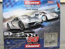 50 Jahre Carrera Digital 132 Rennbahn Set Grundpackung 30168 Time Race Neu
