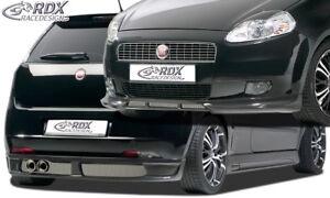 RDX-Bodykit-FIAT-Grande-Punto-Front-Spoiler-Heck-Ansatz-Seitenschweller-Tuning