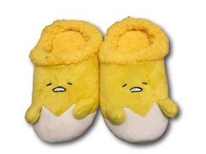 34a50de45f8 New Gudetama Yellow Lazy Egg Soft Plush Warm household Indoor Shoes ...