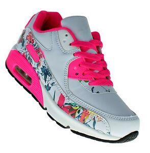 Details zu art 925 Neon LUFTPOLSTER Turnschuhe Schuhe Sneaker Sportschuhe Damen