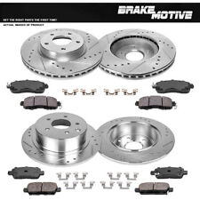 2015 for Nissan Micra Brake Rotors and Ceramic Pads Front