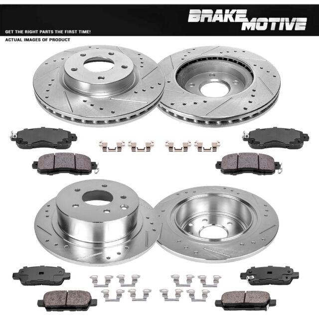 Brake Motive Ceramic Brake Pads Set For Nissan Frontier Pathfinder Front
