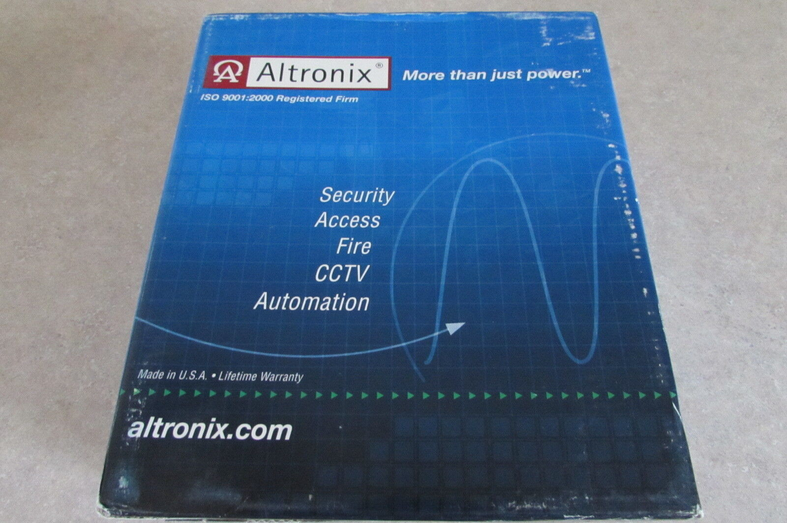Altronix SMP3ET Power Supply Charger 6 12 24 VDC 2.5 Amp Security 60 day returns
