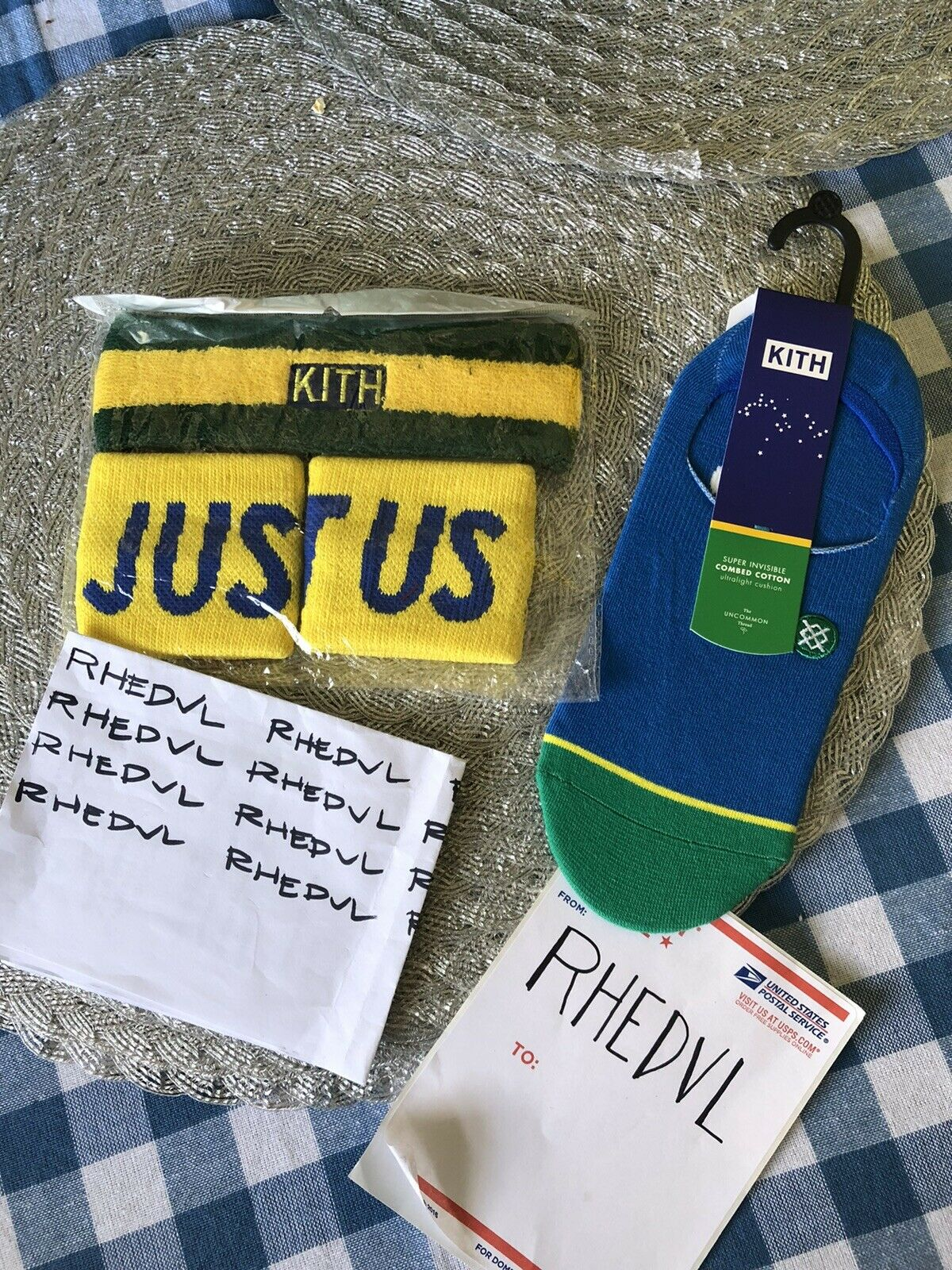 Kith x Stance Brazil GT-2 Super Invisible and KithStrike Headband and Wristbands