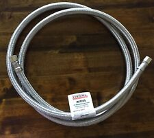 Certified Appliance Accessories Braided Stainless Steel Ice Maker Connector 6ft