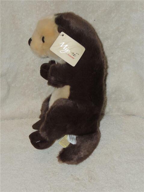 New Aurora World Miyoni Sea Otter Plush Stuffed TAGS Toy Gift Baby