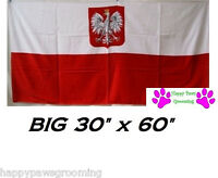Polish Arms Polska Poland Flag Banner Big 30x60cotton Bath Beach Towel Wrap