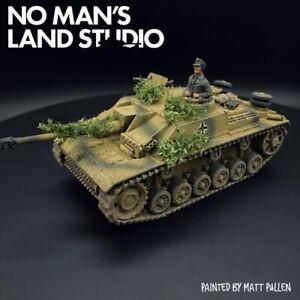 Dipinto-28mm-1-56-WW2-tedesco-Panzer-G-WARLORD-GAMES-Bolt-ACTION