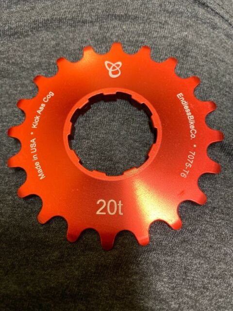 19t Endless Bike Kick Ass Cog Red Ano