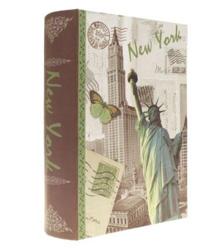 Buch mit Geheimfach Aufbewahrungsbuch Versteck Rom Paris London New York