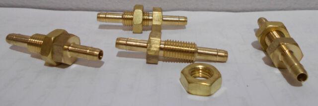 "BRASS NUT Inlet Exhaust 41 mm long 23-11-7 5//16/""-24 UNF Thread Manifold Studs"