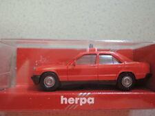 Herpa Mercedes 190 E Feuerwehr Gießen Florian AG-200 in OVP aus Sammlung (3)