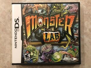 Monster-Lab-Nintendo-DS-Complete-w-Case-amp-Manual