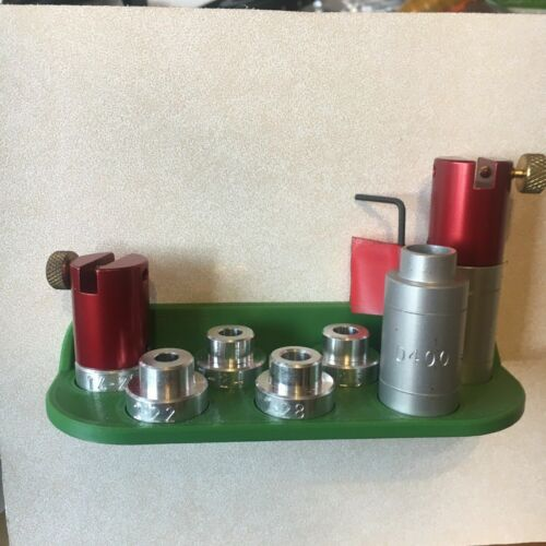 Reloading Comparator Holder Wall Mount for Hornady Comparator and Headspace