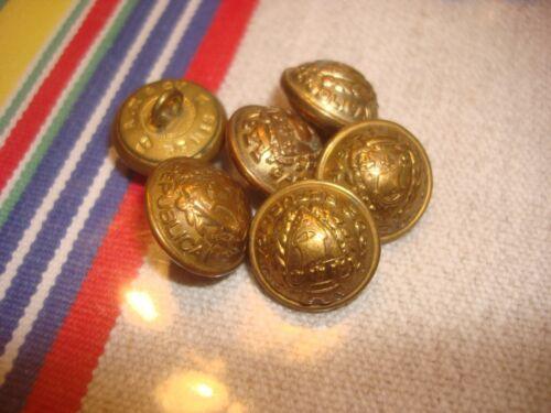 132 MERCERIE ANCIENNE  BOUTON métal GARDE REPUBLICAINE ancien