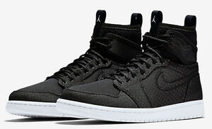 2016 Nike Air Jordan 1 Retro Ultra High SZ 9.5 White Black OG 844700-050