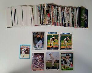 300+ MLB Baseball Card Mixed Set Lot - Topps - Upper Deck - 1970s 1980s 2000s