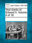 Year Books of Edward II. Volume 4 of 18 by Gale, Making of Modern Law (Paperback / softback, 2011)